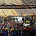 Tens of thousands turn out for Pats Run