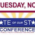 State of Our State Conference logo