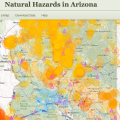 Interactive Website Identifies Arizona Natural Hazards