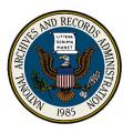 The National Archives and Records Administration Seal