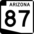 State Route 87 sign