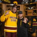 NHL Star  Matthews Teases Fans In ASU Hockey Video