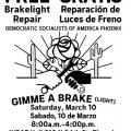 brake light repair flyer