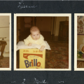 Baby Lisanne Skyler on the Brillo Box, 1969