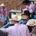 The Toughest Job In The Rodeo Arena Is Being A Bullfighter In Face Paint