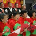 Chinese seniors sing