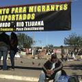 Deportee Camp In Tijuana Plaza Disbands