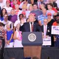 President Trump Announces Rally In Phoenix