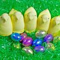 easter-peeps-with-easter-eggs