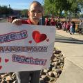 Teachers Walk In To Classrooms For Second Day, Prepare For Walkout