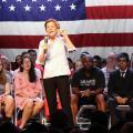 Sen. Elizabeth Warren Pitches Campaign Platform To Supporters In Tempe