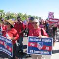 March For Immigrant Rights Draws Crowd To Downtown Phoenix