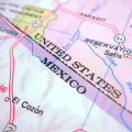 Arizona-Mexico map