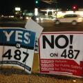 Valley Residents Encouraged To Recycle Election Campaign Signs
