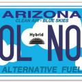ADOT Updates Clean Air Blue Skies Plate Eligibility