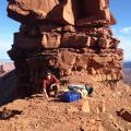 Scientists Measure Vibrations Of Red Rock Tower In Utah