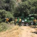 Crews Clean Up Suppression Efforts Behind Woodbury Fire