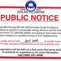 AG Issues Warning About Deceptive Solar Flyers