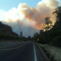 Slide Fire Remains Uncontained