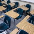 School Desks Sit Empty