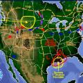 High-Pressure Systems Heat Up Southwest