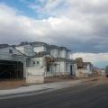 A neighborhood under construction