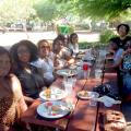 Black Women In The Valley Connect To Celebrate Their Natural Hair And Beauty