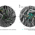 Water Ice Detected On Shadowy Surfaces Of Moon