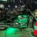motorcycle with light