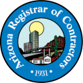 Arizona Registrar of Contractors Logo