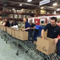 St. Mary's Food Bank volunteers