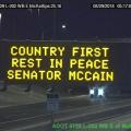ADOT Honors Late Arizona Sen. John McCain