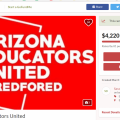 Educator Group Use GoFundMe To Support Strike Efforts