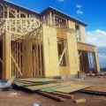 A home under construction