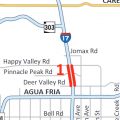 I-17 Shut This Weekend To Replace Pinnacle Peak Bridge
