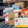 Las Vegas food donations