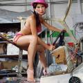 Bodywork Steering, 4/5 from Body/Magic: Liz Cohen