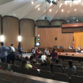 Phoenix City Council chambers clear out