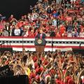 President Donald Trump Holds Rally In Phoenix To Packed Crowd