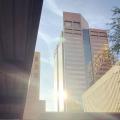 sun rises over downtown Phoenix