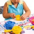 preschool child playing