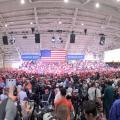 Trump rally near Phoenix-Mesa Gateway Airport — Oct. 19, 2018.