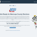 Maricopa County Elections Department Launches New Voter Dashboard
