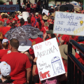 After 2nd Day At Capitol, Some Teachers Prepared To Keep Striking