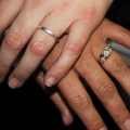Interracial relationships wedding rings