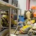 Students in fire science program