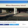 Wilson Elementary School District GoFundMe account