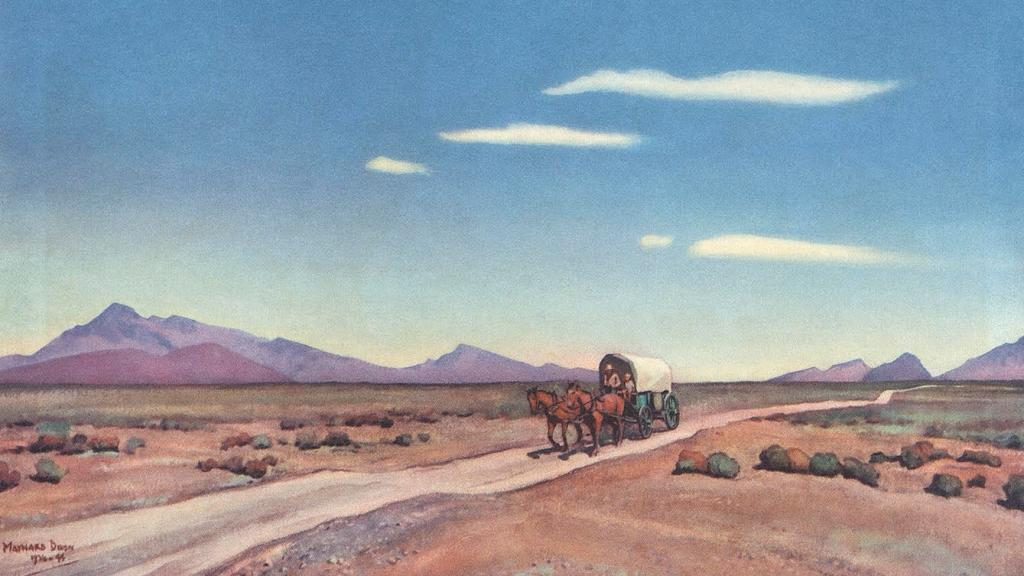 Lonesome Road by Maynard Dixon
