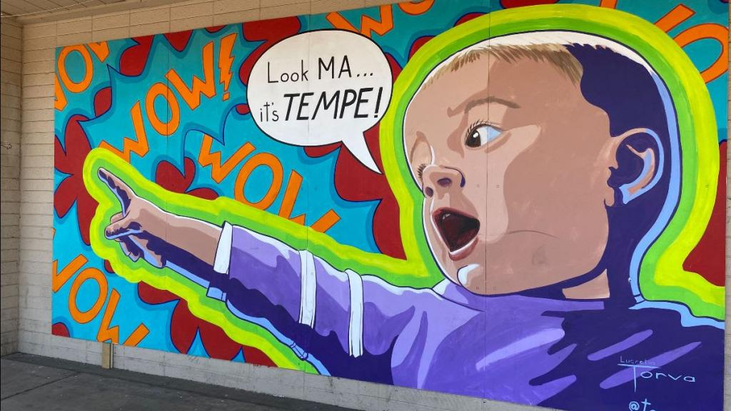 Look Ma, it's Tempe baby