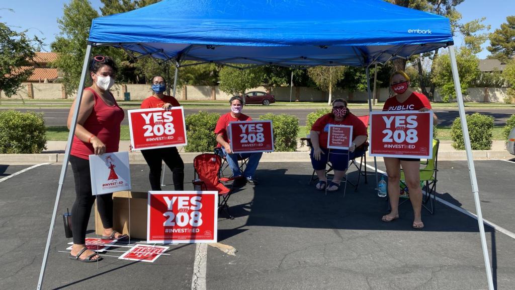 Prop 208 Volunteers